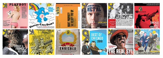 Favorite covers of the Chicago Reader from 2010.