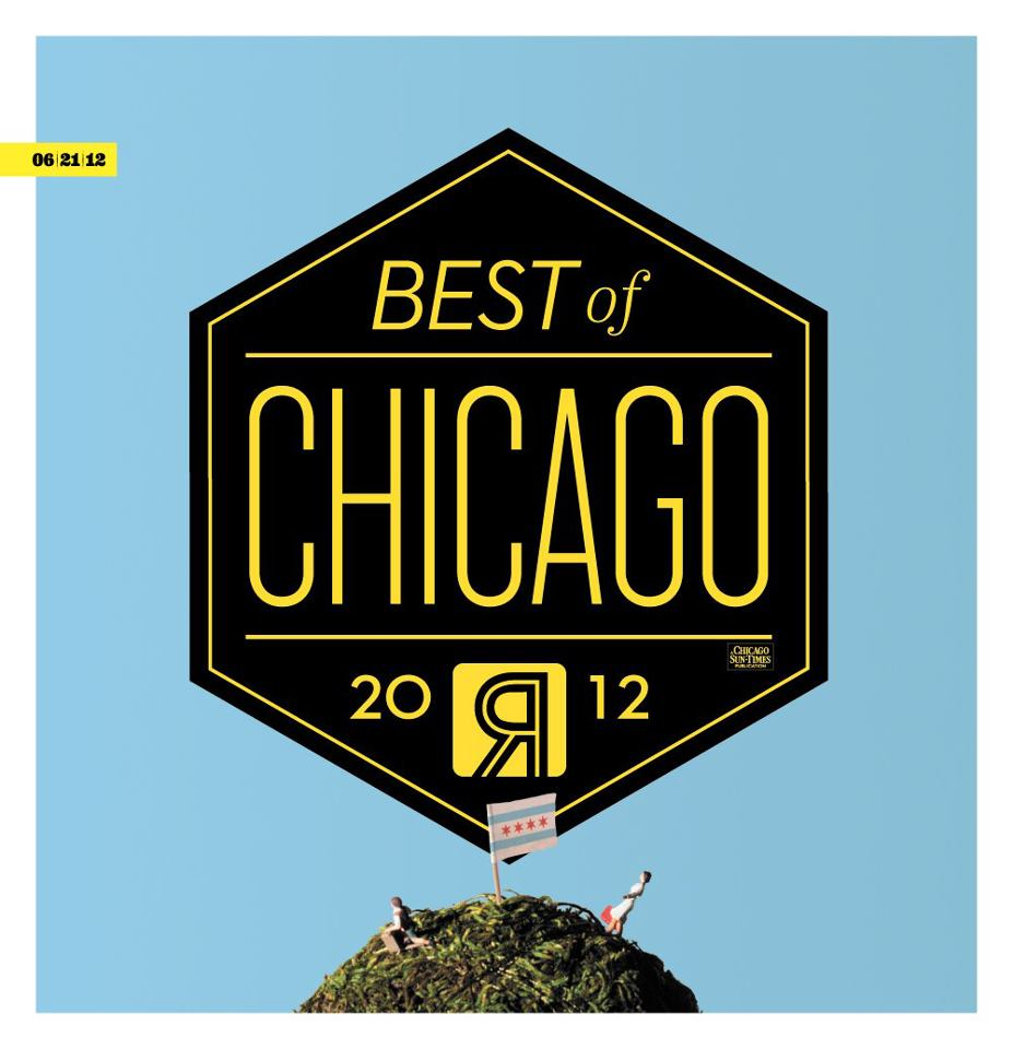 Chicago Reader newspaper redesign marketing viral campaign