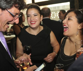 "Friday's gala brought out the ""Who's Who"" of Chicago Hispanic business community. (Photo courtesy Negocios Now.)"