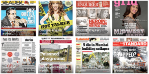 Newspaper design will be around for a few more years at least. Check out hundreds of page designs from a wide variety of newspapers - and magazines - around the world.