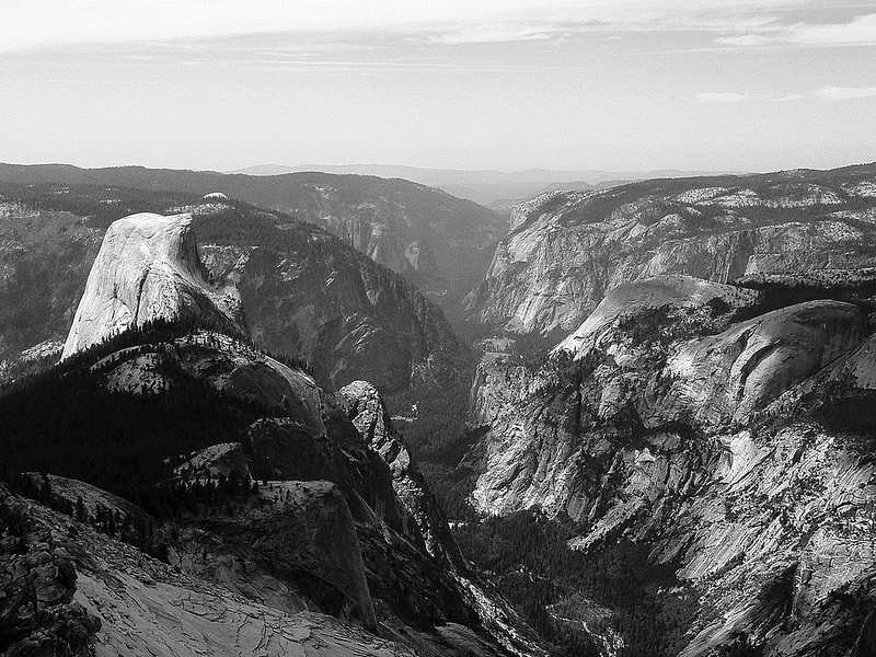 Cloud's Rest, Yosemite, by Ron Reason.