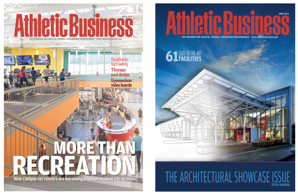 Athletic Business magazine redesign
